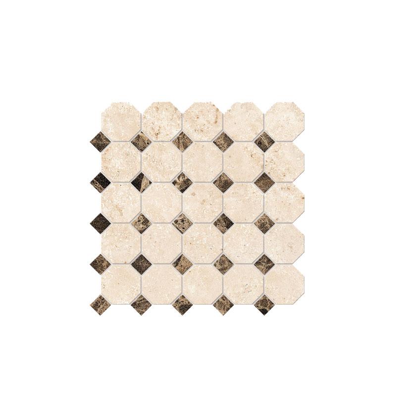 ESTIMA Mosaico Octagon Small  30Х30 Матовая