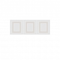 MLD\A68\15000 Декор Вилланелла геометрия белый